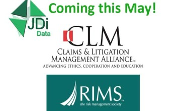 RIMS, CLM, West Coast Casualty: May 2016 Events