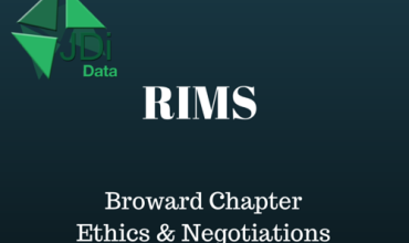 RIMS Broward Meeting: Ethics & Negotiations